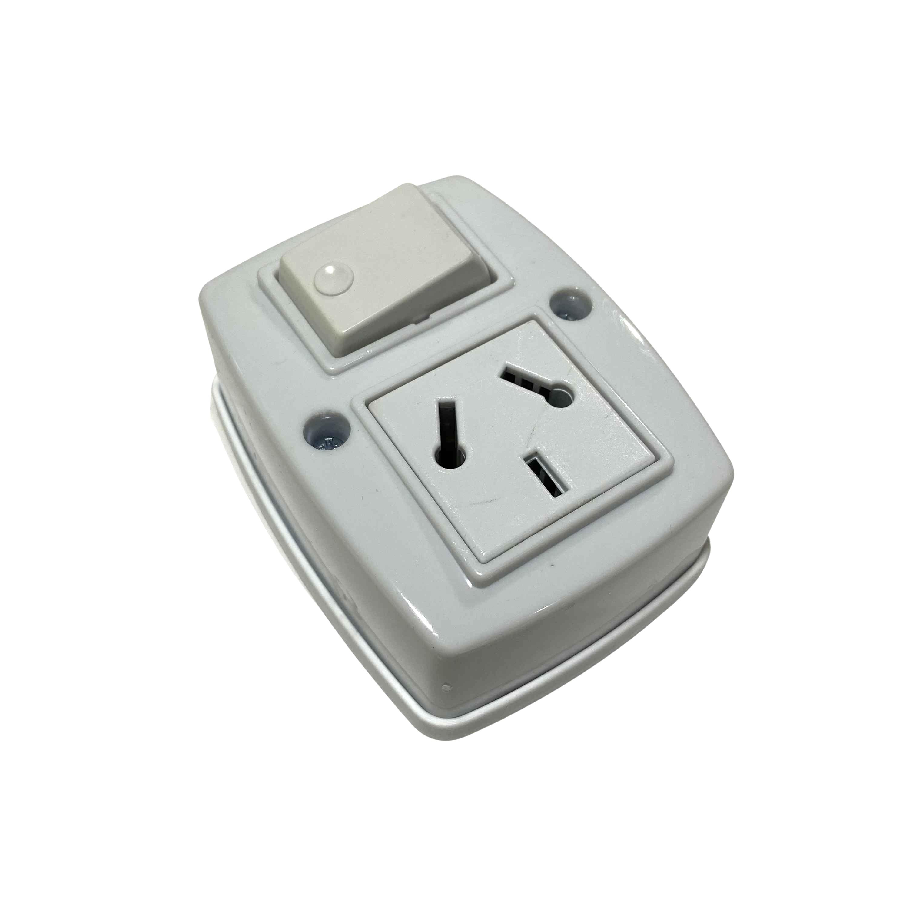 Epn-2703-02 carcasa conexión lata x 95mm y 130mm Z 58mm ip55 gris 2703-02